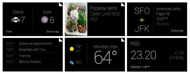 Google Glass UI