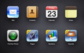 iCloud now shows Pages, Numbers, and Keynote,
