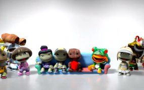 The LittleBigPlanet Hub: A digital home for Sackpeople and other Little Big Planet content. And it'll free to download.