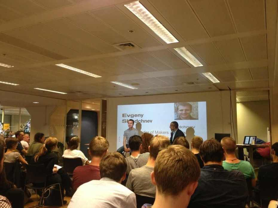 "A ""lean startup machine"" workshop in London"
