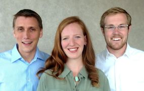 Mattermark's founders: Kevin Morrill, Danielle Morrill, and Andy Sparks.