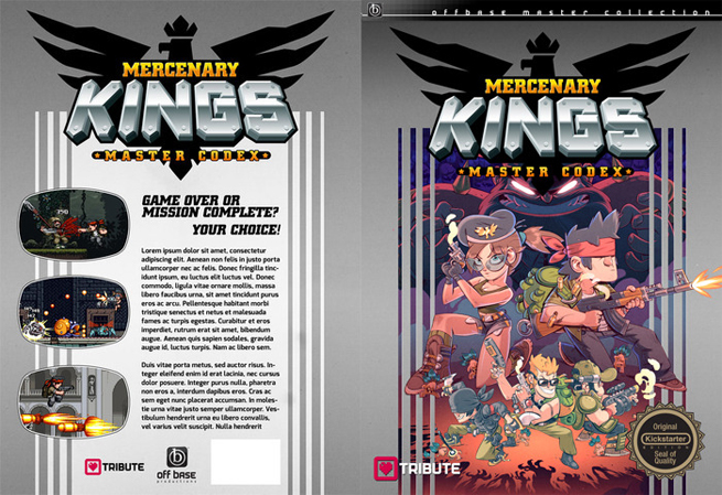 Mercenary Kings Codex
