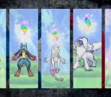 Pokémon X and Y's Mega evolved creatures.