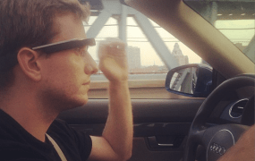 google glass driving