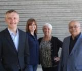 TrueLink's team: Kai Stinchcombe, Claire McDonnell, Debra Wohlrab, Chandra Chaterji