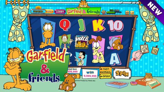 Win's Garfield slot game