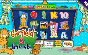 Win's Garfield slot game