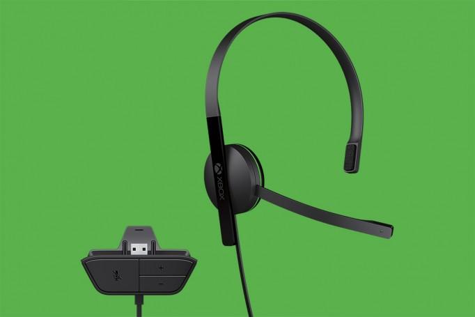 Xbox One's headset.