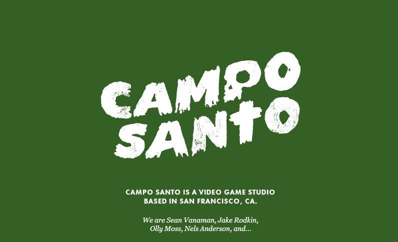 The logo for the new Campo Santo studio.