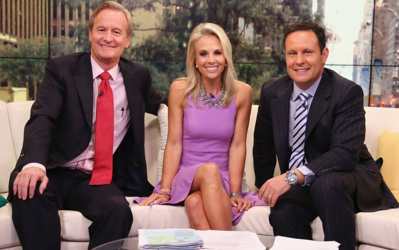 'Fox & Friends' hosts Steve Doocy, Elisabeth Hasselbeck, and Brian Kilmead