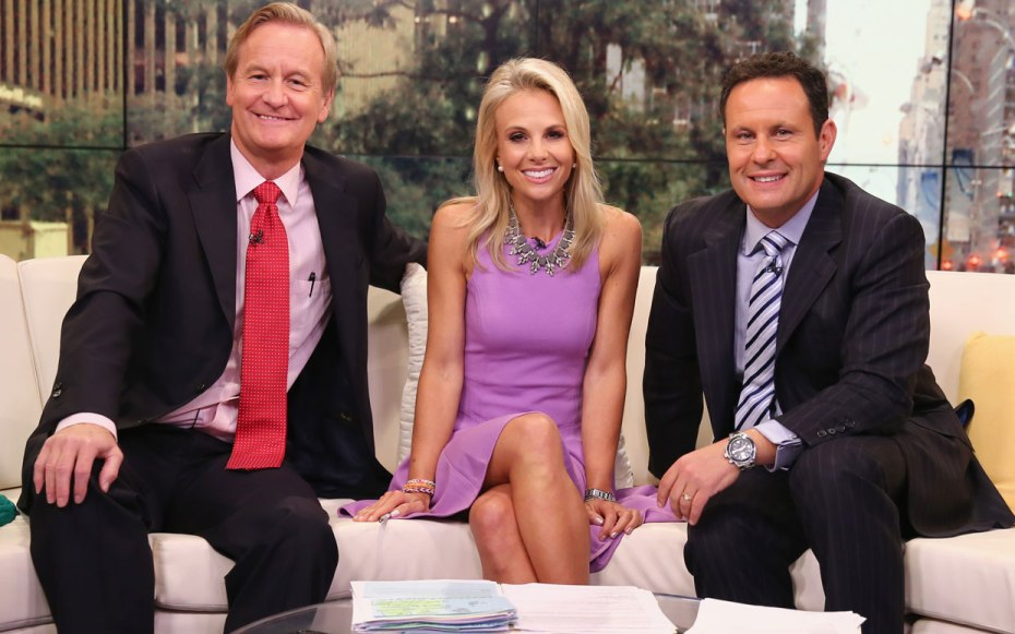 'Fox & Friends' hosts Steve Doocy, Elisabeth Hasselbeck, and Brian Kilmead