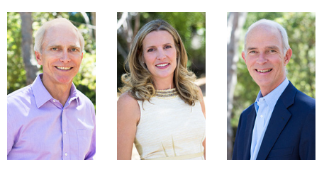 Canvas managing directors Gary Little, Rebecca Lynn and Gary Morgenthaler