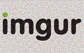 Imgur mosaic logo