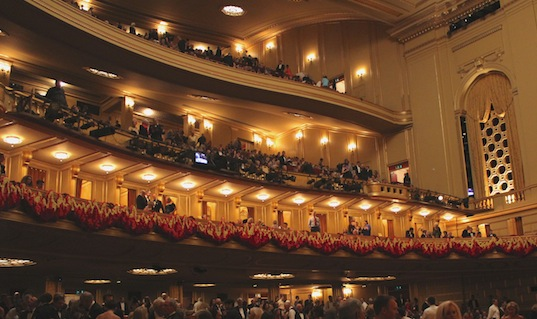 Inside San Francisco's War Memorial Opera House