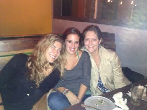"My ""wing women"" -- I owe them a drink."