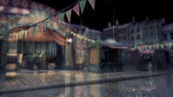 Rain - circus