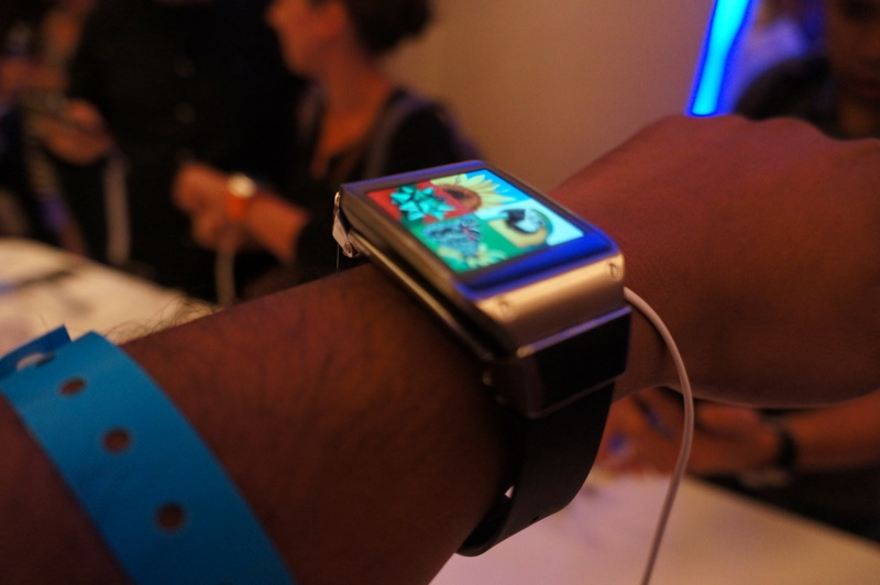 Samsung Galaxy Gear hands-on 1