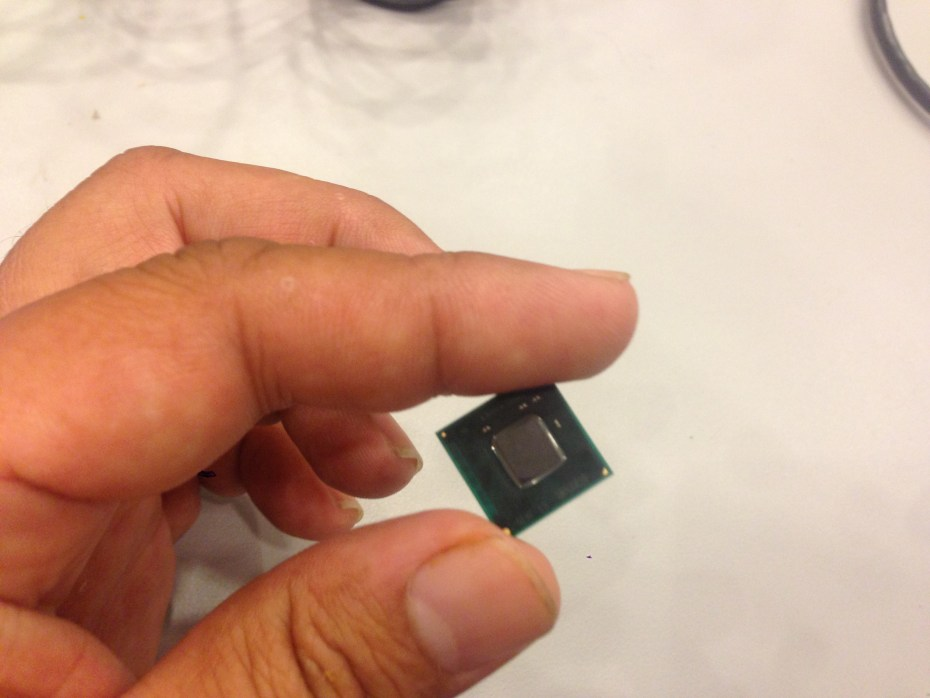 An Intel Quark chip