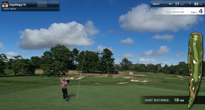 World Golf Tour is experiencing great success with its virtual U.S. Open courses.