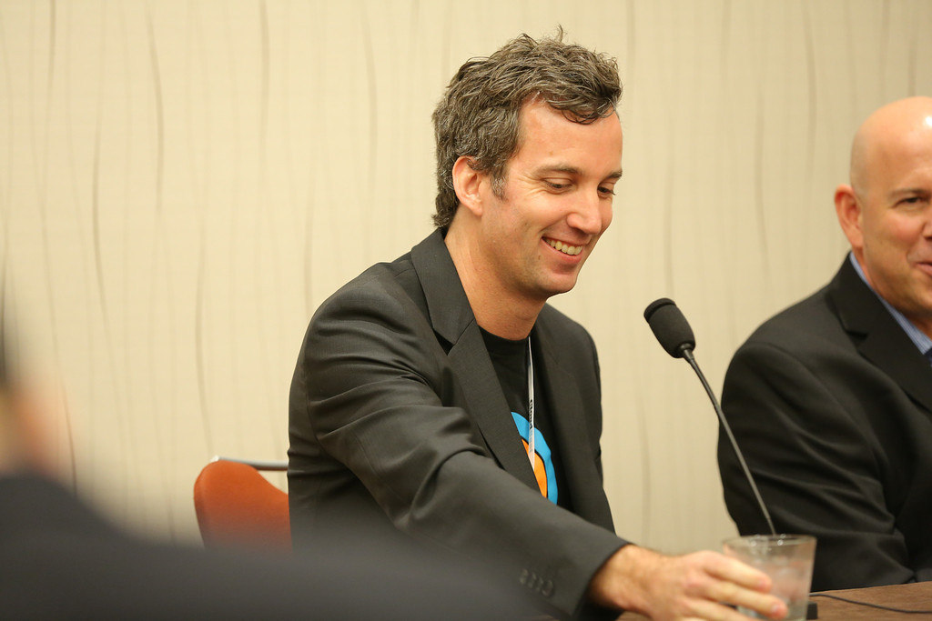 Jamie Sutherland, the president of U.S. operations at Xero, at CloudBeat on Monday.