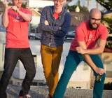 Josh Dzielak, Dan Kador and Kyle Wild at Keen HQ.