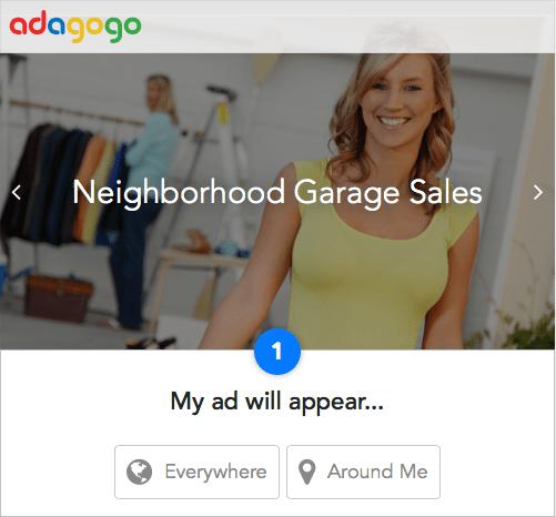 Adagogo home page