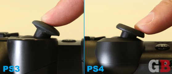 DualShock 3 vs. DualShock 4 - analog stick angles