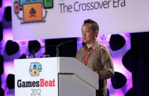 """Dan """"Shoe"""" Hsu at GamesBeat 2012"""