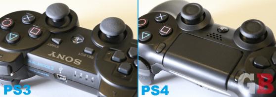 DualShock 3 vs DualShock 4 - touchpad