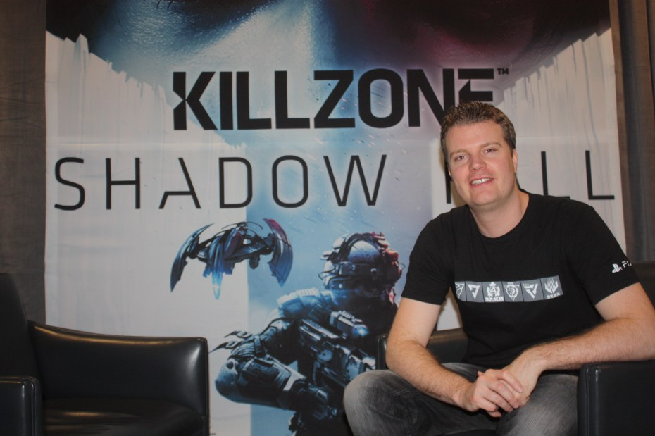 Eric Boltjes, lead designer of Killzone: Shadow Fall