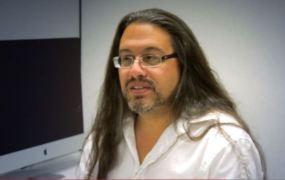 Game designer and programmer John Romero.