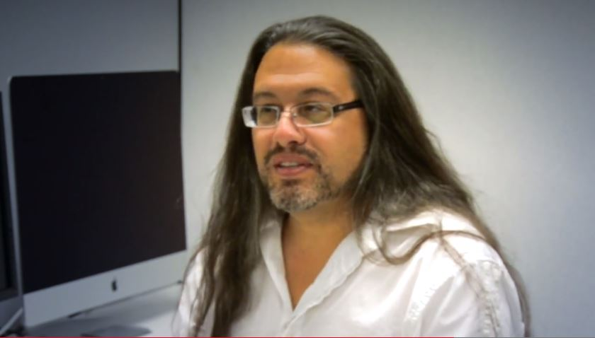 Game designer and programmer John Romero.