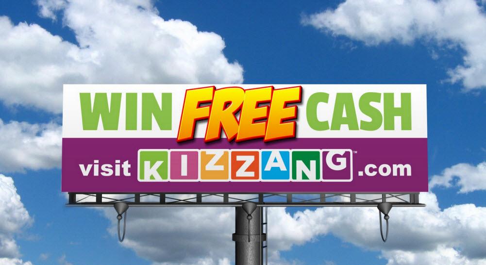 Kizzang.com lets you win cash in games.