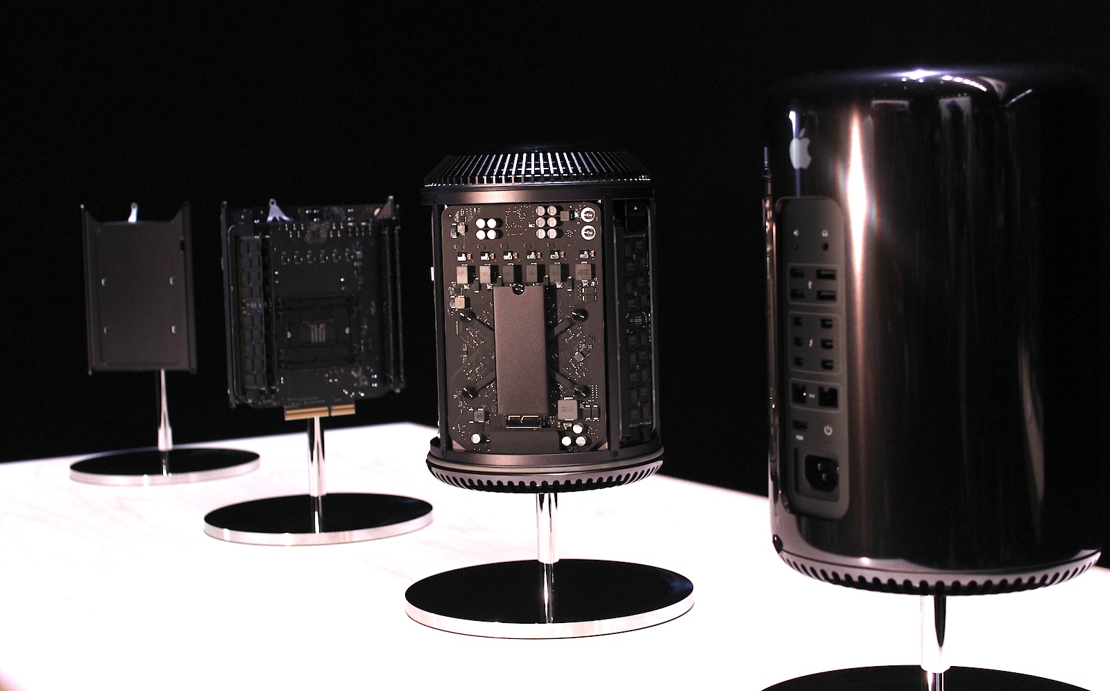 Another view of the Mac Pro's insides.