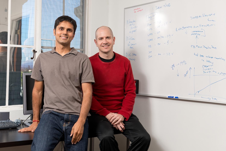 Refresh founders Bhavin Shah and Paul Tyma