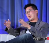 Kevin Chou, the CEO of social game company Kabam, during his chat at GamesBeat 2013.