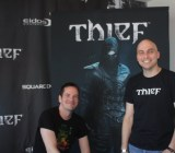Thief creators Steven Gallagher and Stephane Roy