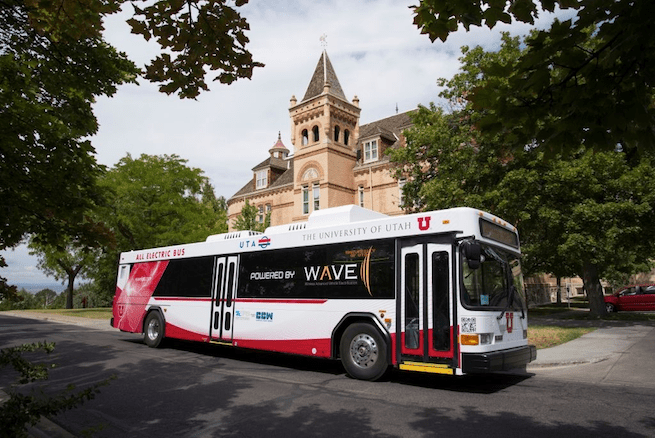 WAVE's technology is powering wireless electric buses