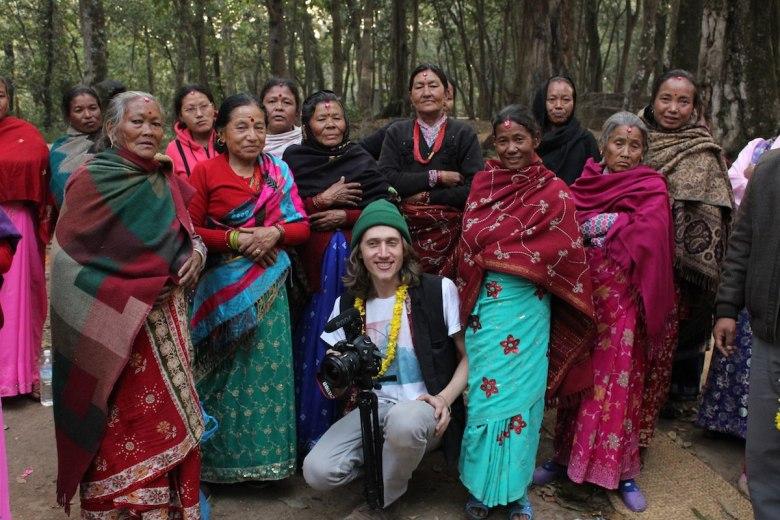 Filmmaker/entrepreneur Stefan Wolf in Nepal.