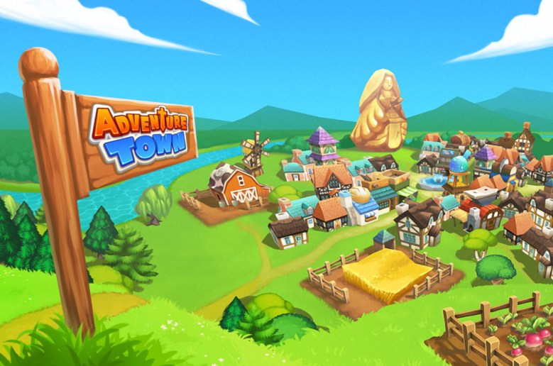 Adventure Town from Supersolid Games