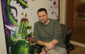 Brian Lindley, producer on Plants vs. Zombies: Gaaden Warfare