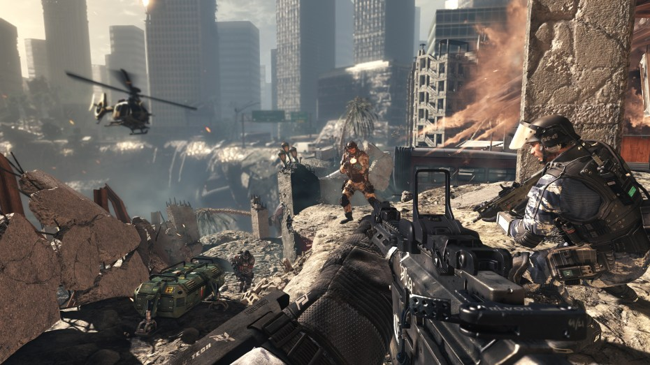 Call of Duty: Ghosts ambush at the chasm.