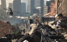 Call of Duty: Ghosts ambush at the chasm.