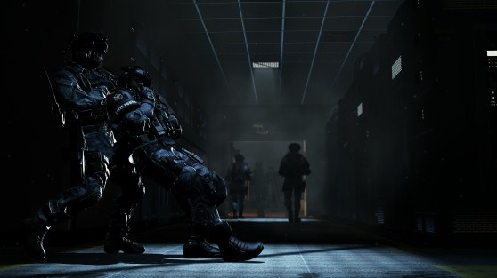 Call of Duty: Ghosts server room takedown