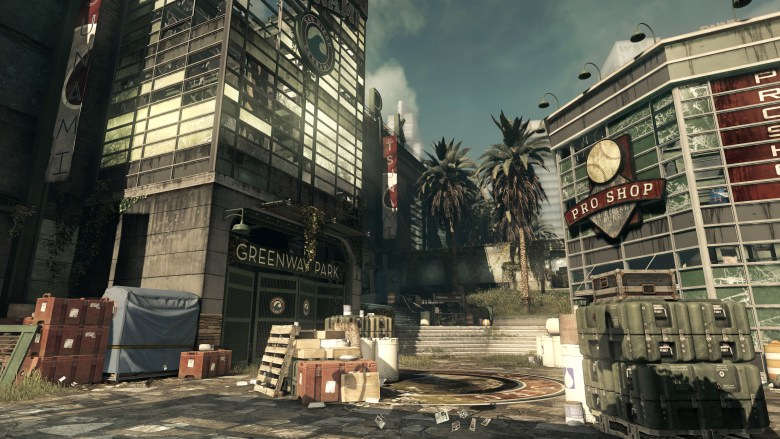 Call of Duty: Ghosts Strikezone multiplayer map