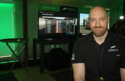Dan Greenawalt, creative director at Turn 10 Studios, maker of Forza