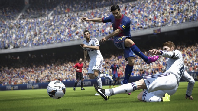 Players put in 18 billion minutes into FIFA 14 from October to December. That's a lot of (soccer) balls.
