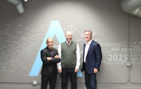 L-R: Bruno Aziza (CMO), Steven Hillion (CPO), Joe Otto (CEO)