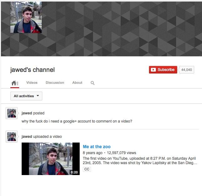 Karim's YouTube page