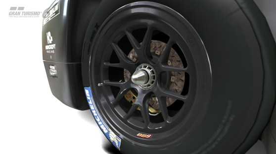 Tire data plays a big role in bringing GT6 closer to the real thing.